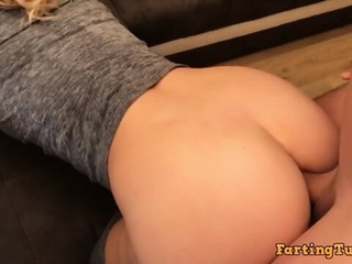 Blonde Fit Teen gets ASS DESTROYED by Huge Cock ( ANAL CREAMPIE !)