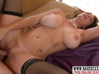 Wonderful Mother-In-Law Charlee Chase In Stockings Gets Good Sex